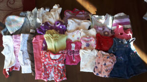 YOUR BABY GIRL'S WARDROBE!  O-6 MOS