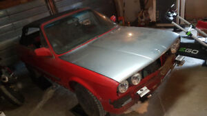 v8 e30 project 3250$ or trade for pickup truck