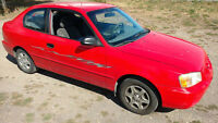 2000 Hyundai Accent Hatchback