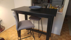 Ikea solid wood table and chairs