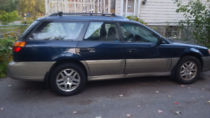 Subaru Outback Wagon 2001 - excellent body condition