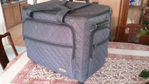 Studio Collection Rolling Trolley /Quilted Tote –Sewing, Hobbies