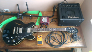 Epiphone ES-339 and accessories