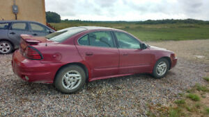 Saftied 2004 Pontiac Grand Am Sedan
