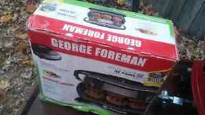 Brand new George Foreman grill never used 20$