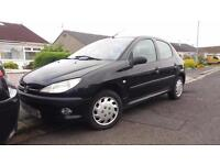 2002 52 PEUGEOT 206 1.4 HDi LX 5 DOOR.£30 ROAD TAX.FULL MOT.ANY PX WELCOME.80MPG