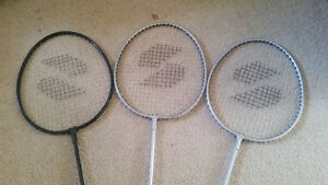 Badminton racquets for beginners -3 for $3