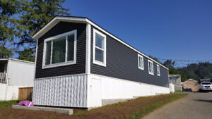 New manufactured home in park