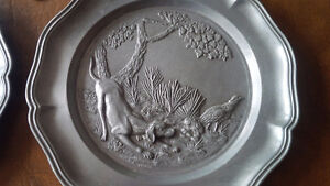 Wall Plaques, Pewter?, Made In Italy Kitchener / Waterloo Kitchener Area image 3