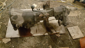 94-97 dodge ram 1500 rebuilt transmission n t-case