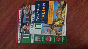 Italian travel guides 2016-2017 and language learning