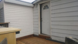 2 Bedrooms & Den, 1 Bathroom available from September 1st