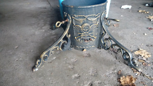 Antique Cast iron tree stand