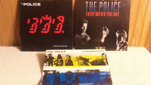 The Police...Lot of 3  Vinyl Albums /Lp's