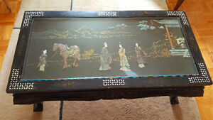ORIENTAL CRAFTED COFFEE TABLE