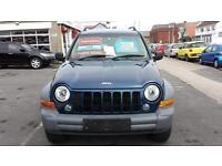 2005 JEEP CHEROKEE 2.8 CRD Diesel Sport Automatic From GBP4,195 + Retail Package