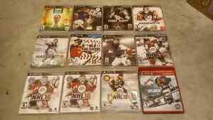 24x Excellent condition PS3 games for sale