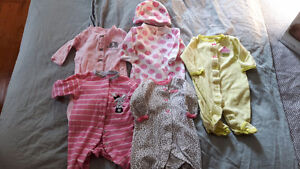 Girls 3 months sleepers