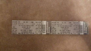 Two tickets to Disney On Ice-100 Years of Magic Tickets!
