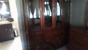 CHINA CABINET - Immaculate - Moving must sell