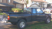 1996 Toyota Tacoma V6 4x4 Ext Cab. Great Project or Parts Truck.