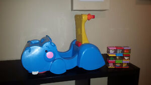 Hungry Hippo Stand and Sit with 9 Blocks and Delivery!