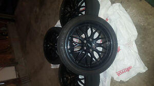"""18"""" Dai rims with Tires"""