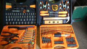 Tool set in handy carrying case ideal for home or cottage