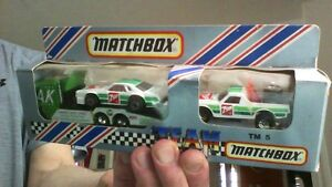 1984 7up Matchbox Team (MINT IN THE BOX)