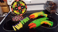 Nerf style guns with darts