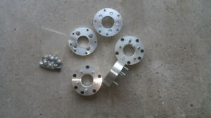 4 bolt to 5 bolt wheel adaptors