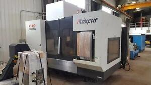 Leadwell V-60i CNC mill with 4 axis 226 hours only