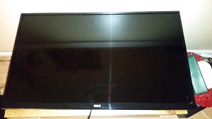 """39"""" flat screen TV (picture issue, needs parts)"""