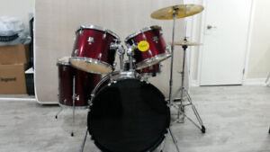 drum set in good condition