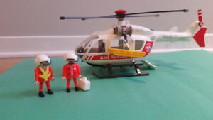 playmobil helicoptere 4222