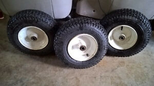 3 New Tires For Dolly / Cart London Ontario image 1