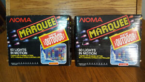 NOMA Marquee Outdoor Lights  (60 lights in motion)