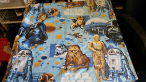VINTAGE STAR WARS TWIN FLAT SHEETS