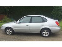 CHEAP TOYOTA COROLLA VVTI GS 1.6L (2001) low miles year mot