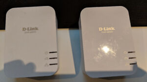 D-LINK DHP-600AV POWER LINE ADAPTERS Expand WIFI/Network