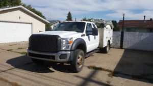 2011 Ford F-450 XL Cab & Chassis Service Body / Tool Truck