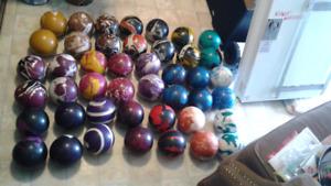 Plusieur Set de Boule de bowling quille 30$