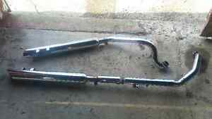 HARLEY TOURING exhaust true duals 1989 & up London Ontario image 2