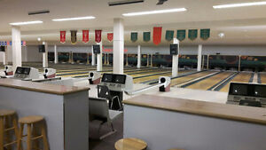FULLY EQUIPPED BOWLING ALLEY