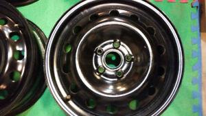 17 inch VW 5x112 Steel rims $150.00