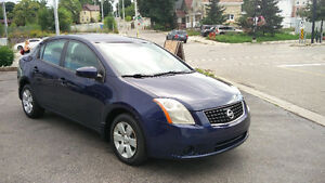 2008 Nissan Sentra 5 Speed 160,000km Safety/E-tested!