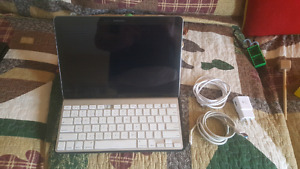 galaxy note pro 12.2 +apple wireless keyboard and incase stand