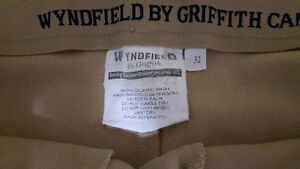 Wyndfield by Griffith cream riding pants