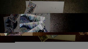 Three Shambhala Hard Copy Tickets with glitter and stickers!