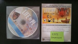 Life of Pi (2013) - Digital Copy/Code for Apple iTunes Store DVD